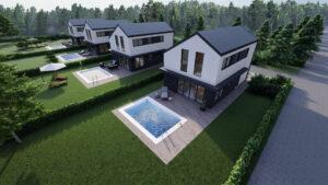 domki na wynajem Boszkowo -projekt