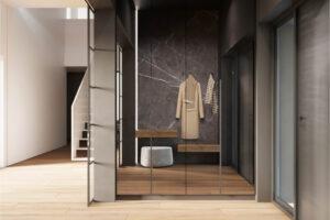 nowoczesny projekt wnętrza domu jednorodzinnego architektura ciążkowski