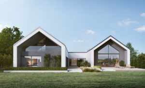 Projekt domu dwie stodoly Architektura Ciążkowski