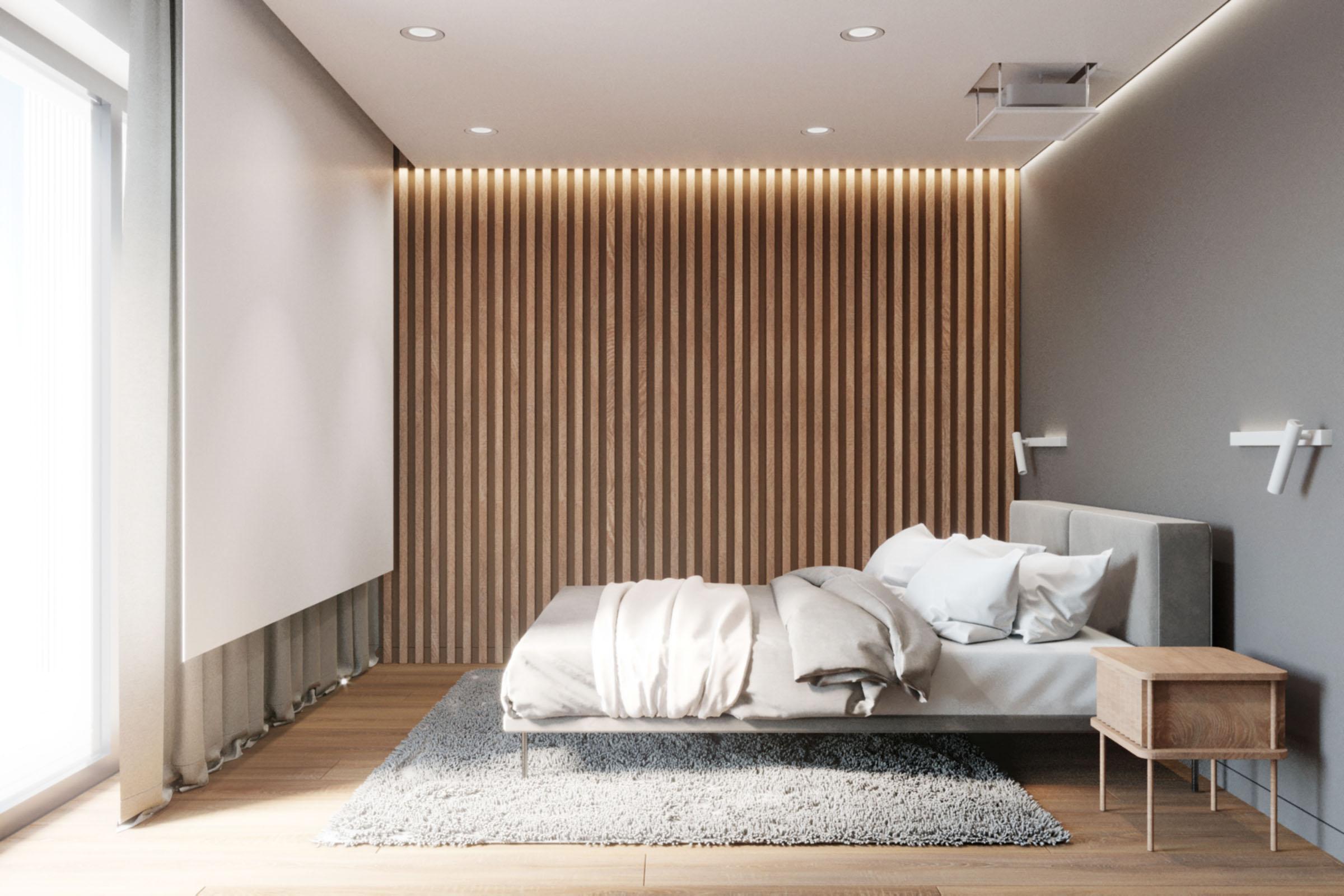 projekt-nowoczesnej sypialni architekt poznań