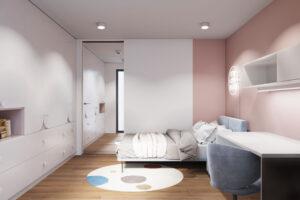 projekt wnętrz pokoju dla dzieci