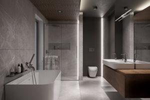 projekt wnętrza łazienki architekt poznań